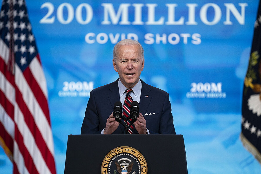 For Biden, vaccine patent waiver is a test of US leadership