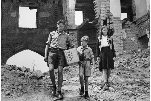 The CARE packages sent to Europe 75 years ago conveyed an important message of American compassion. Today, they're icons of U.S. soft power.