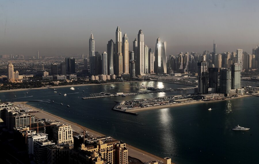Dubai offers haven from pandemic for the world's wealthy