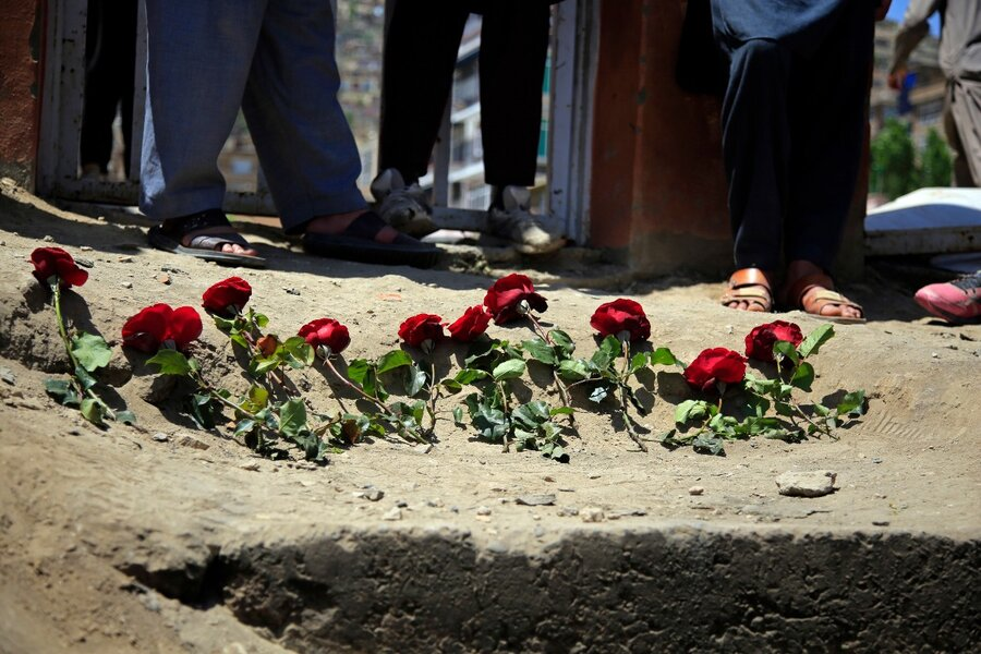 Deadly bombing of a girls' school in Afghanistan. Who did it?