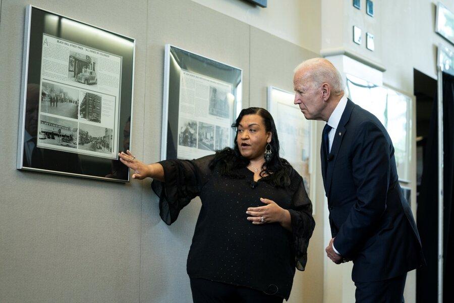 A hundred years on, Biden honors victims of Tulsa Race Massacre thumbnail