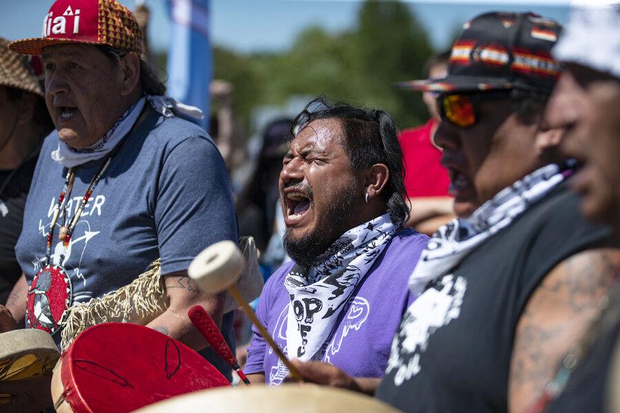 In Minnesota, pipeline protestors prepare for 'summer of resistance'