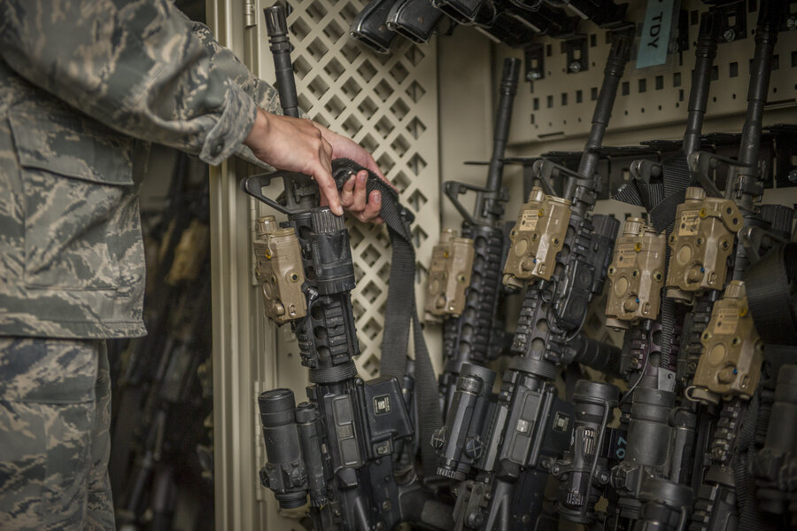 Why are US military weapons going missing?