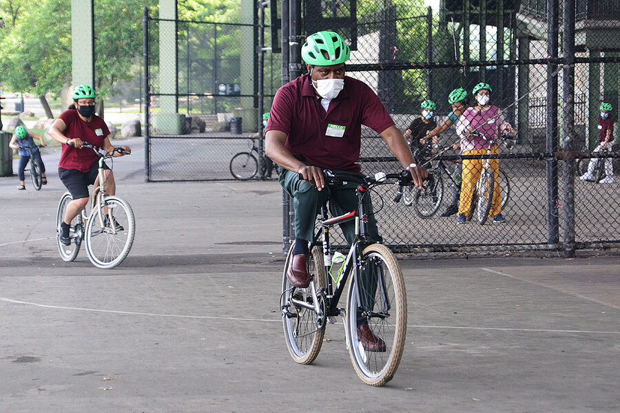 Amid biking boom, more adults decide it's finally time to learn