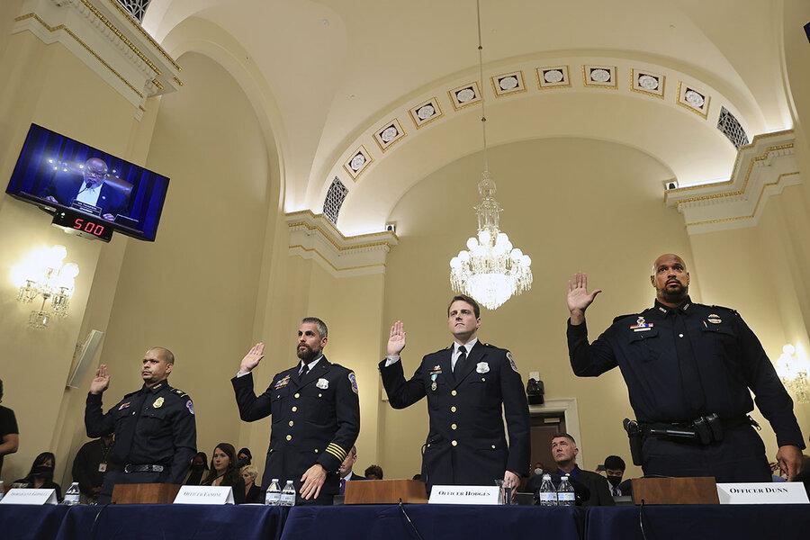 'You held the line': Police heroism in spotlight at Jan. 6 hearing