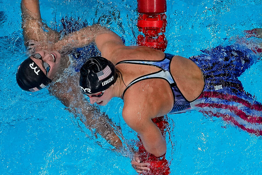 www.csmonitor.com: Why Katie Ledecky's gold represents something bigger at the Games