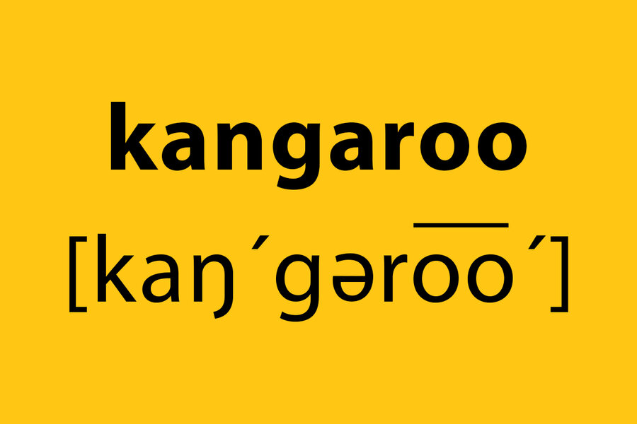 Like puzzles? Try searching for 'kangaroo words.'