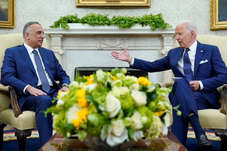 Shifting focus, Biden announces end to US combat mission in Iraq