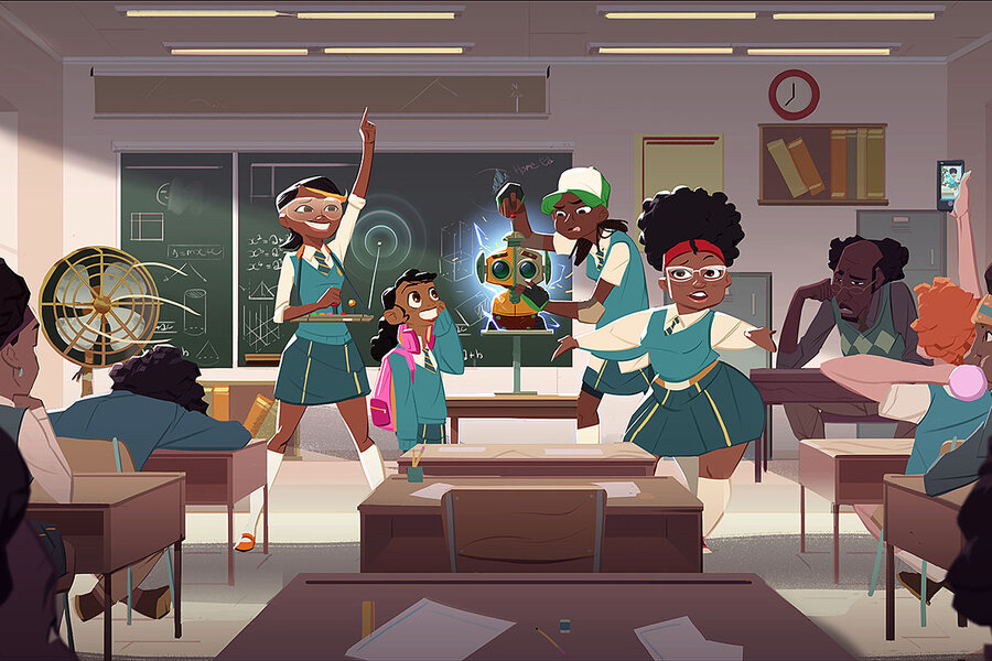 As African superheroes come on screen, more kids see themselves