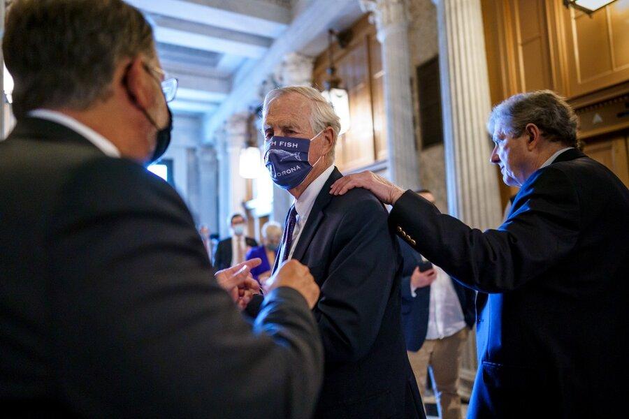 Bipartisan infrastructure bill unveiled. Up next, a Senate vote
