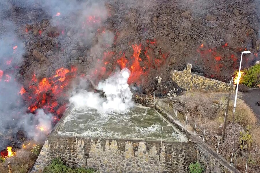 Lava continues to spew from Canary Island volcano. What now?