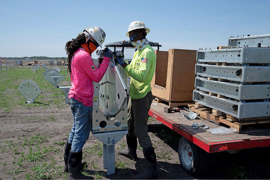 Solar energy is a new cash crop for farmers – when the price is right