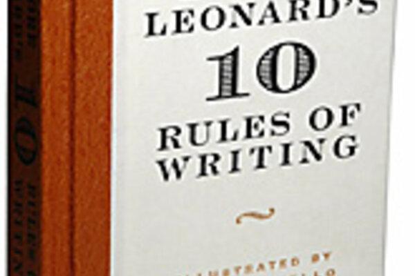 Elmore Leonard's 10 Rules of Good Writing - CSMonitor.com | 600 x 400 jpeg 34kB