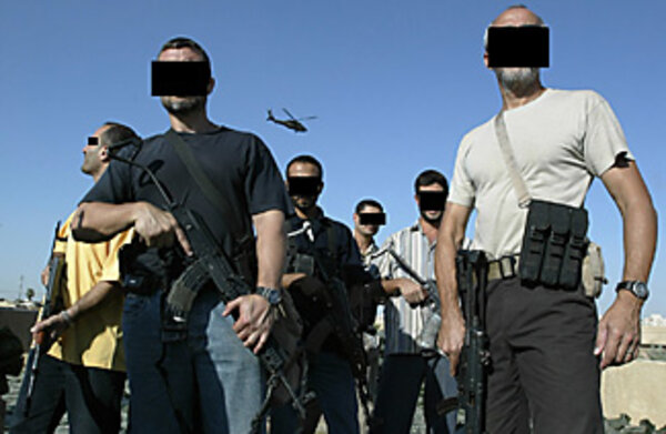 Private security contractors look to africa for recruits for America s best contractors