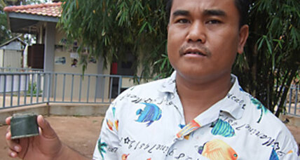A former Cambodian boy soldier defuses his past