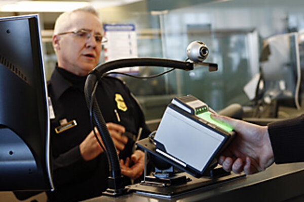 More extensive tourist fingerprinting comes to U.S. ports