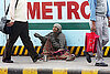New Delhi cleanup sends in the Beggar Raid Teams