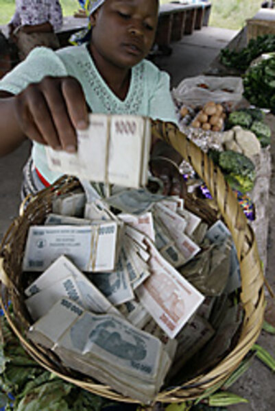In Zimbabwe, bread costs Z$10 million - CSMonitor com