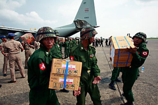 Will Burma (Myanmar) let world in for aid?
