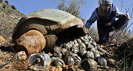 Global cluster-bomb ban draws moral line in the sand