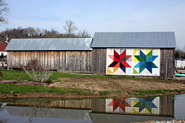 Follow The Quilt Barn Trails Csmonitor