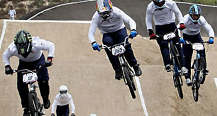 For extreme sports fans, Olympics adds jumping cyclists