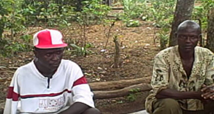 A former rebel faces the Sierra Leonean farmer he maimed