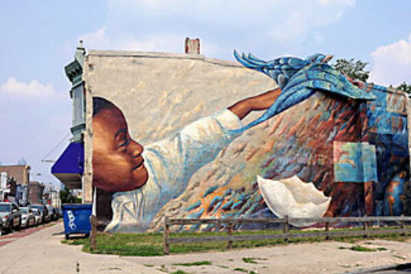 Philadelphia picture show for Christian mural