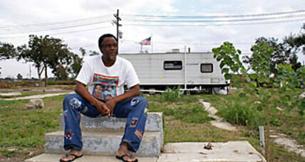 New Orleans' Lower Ninth Ward stirs and rebuilds