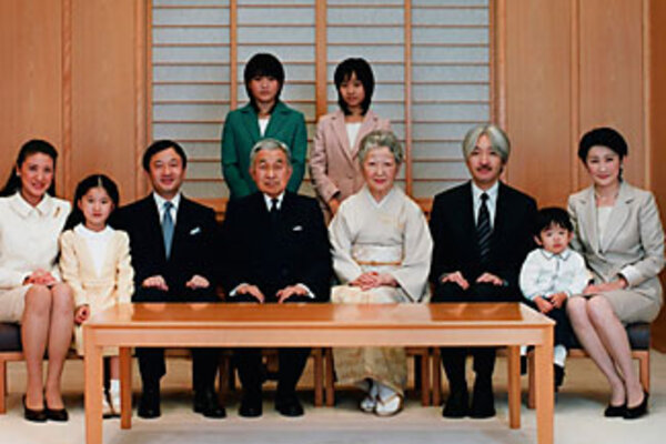 Japans imperial family members seen here posing for an official photo in december are struggling with their tightly constrained lives
