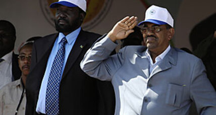 What is Egypt's position on darfur ?