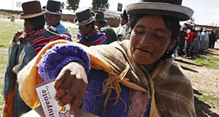 Bolivia sets new global high mark for indigenous rights