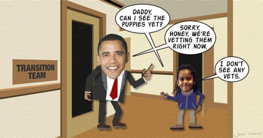 Obama narrows it down to Labradoodle or Portuguese Water ...