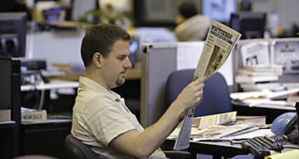 Newspapers' troubles escalate in recession