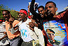In Darfur, street protests over Bashir arrest warrant