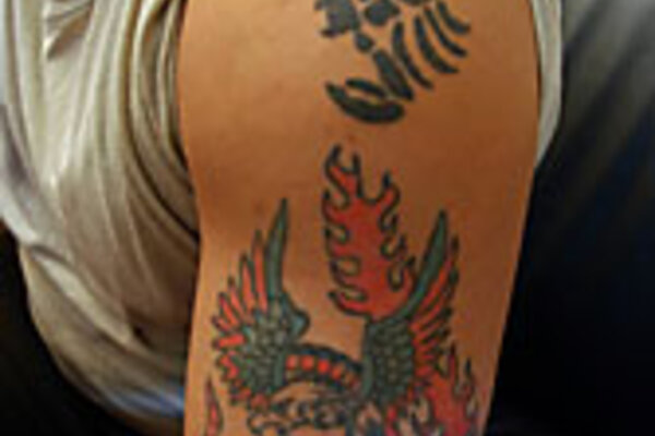 americans 39 lasting mark on iraq colorful complex tattoos. Black Bedroom Furniture Sets. Home Design Ideas