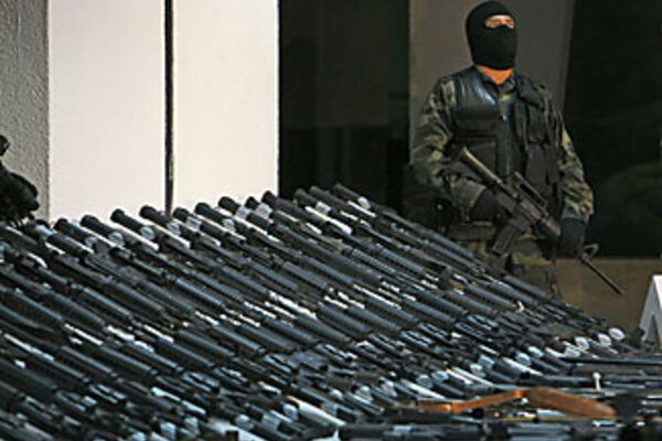 Are Mexican Drug Traffickers Armed With Us Guns