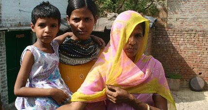 "India: Rural villagers say, ""no toilet, no bride."""