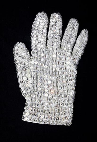 Michael Jackson's famous glove: where it all started
