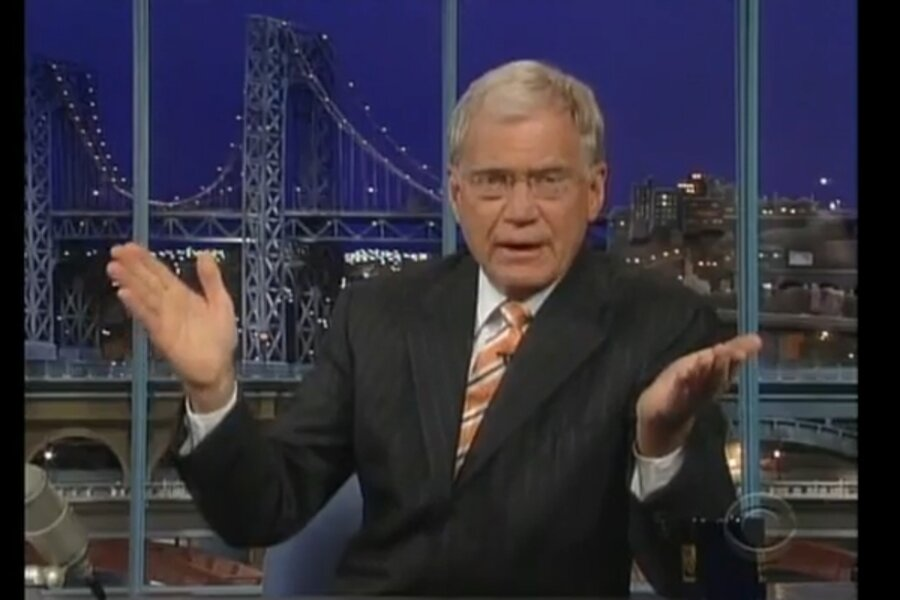 Palin accepts Letterman apology for joke about her 14 year old ...