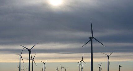 Can large wind farms tweak weather downwind?