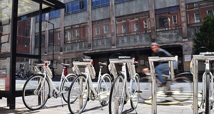 Bike sharing that creates energy – and pays you to ride?