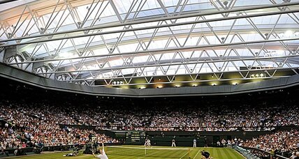 Wimbledon takes tennis high-tech