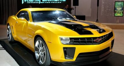 GM rolls out a bright yellow 'Transformers'-edition Camaro