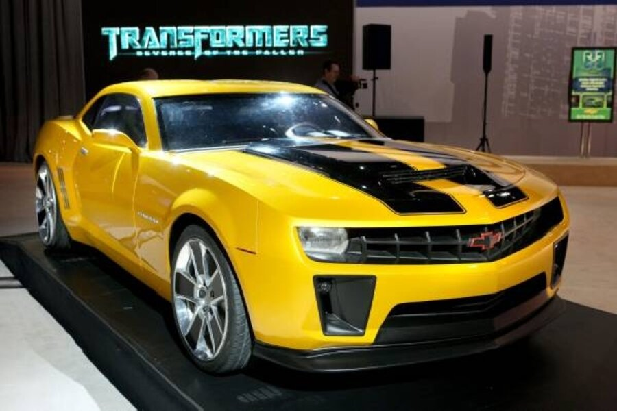 GM rolls out a bright yellow 'Transformers'-edition Camaro ...