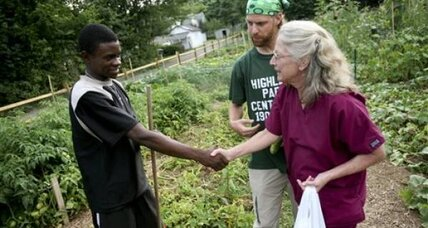 A community garden brings people together