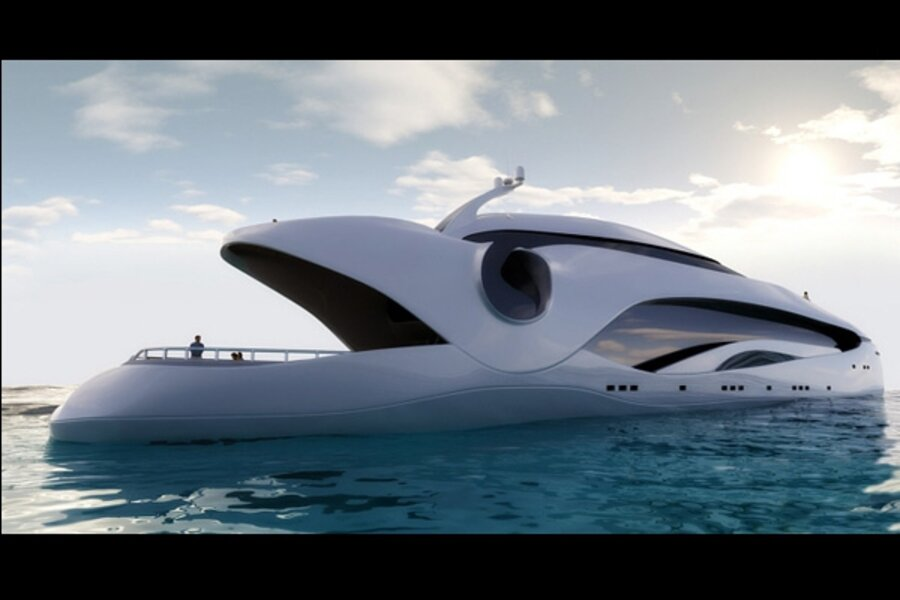 Oculus and Infinitas: Super yachts for the super rich