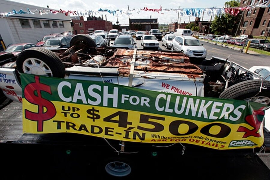 Cash For Clunkers >> How Much Did Cash For Clunkers Drive Economic Growth