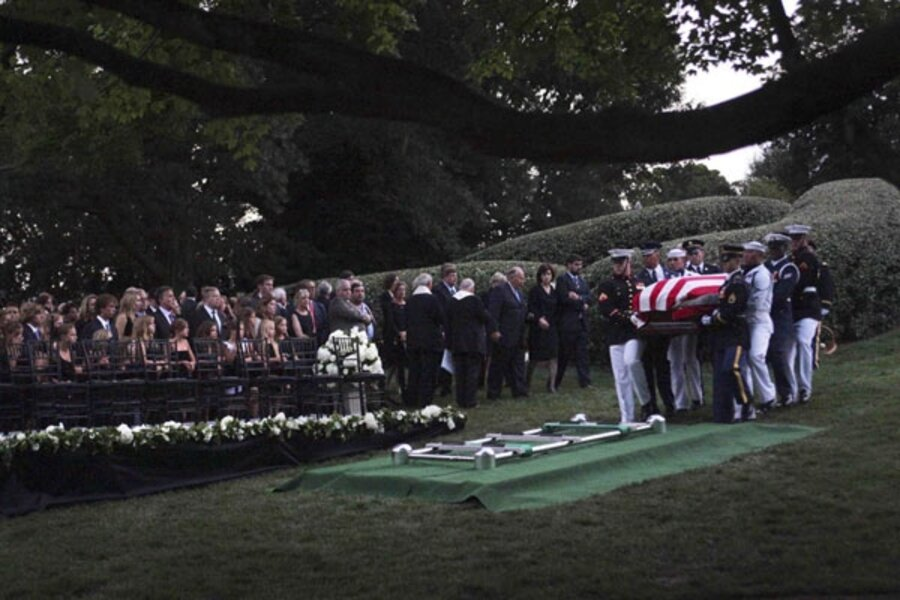 Edward Kennedy Joins Brothers John And Robert At Arlington