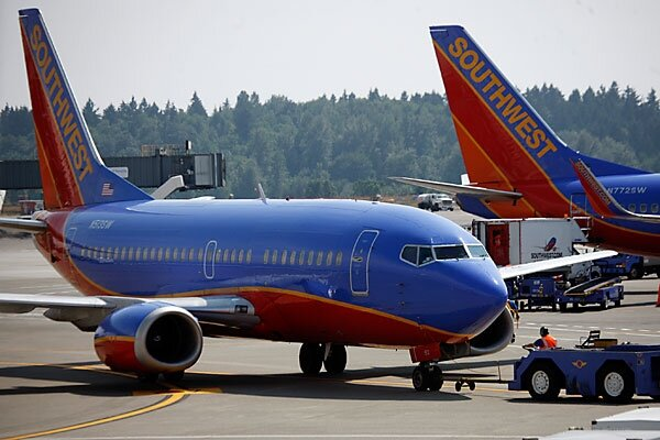 southwest airline on boarding approach Most airlines board back-to-front, an approach that makes sense, at first  by  united airlines, and the free-for-all boarding of southwest airlines.